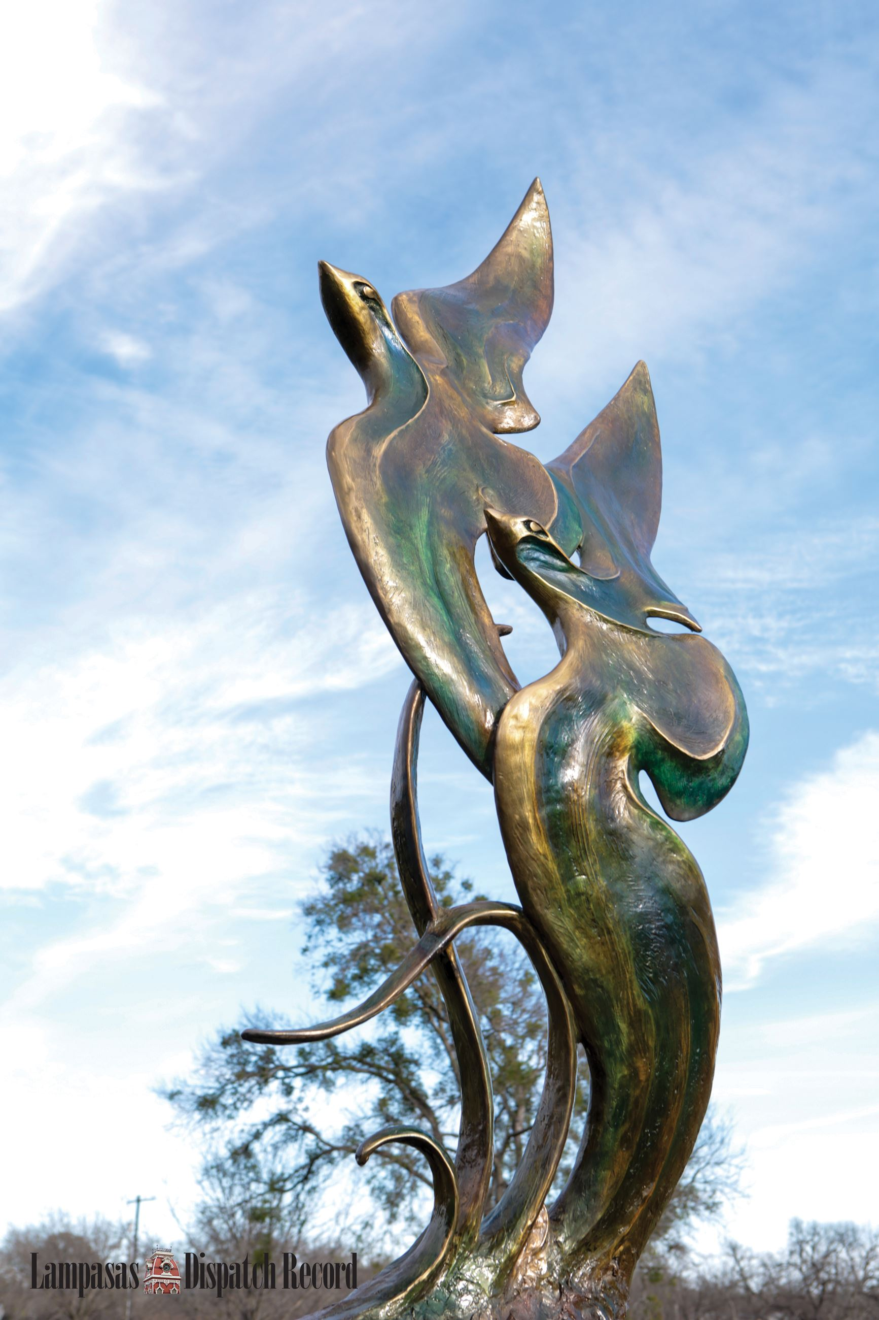 Mystic Flight Art Sculpture