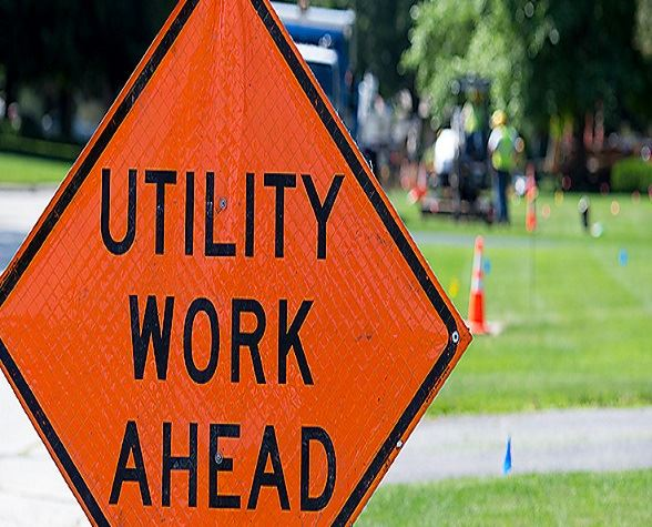 utility-work-ahead-sign