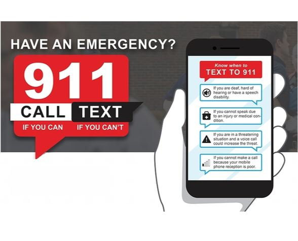 Text to 911 col news
