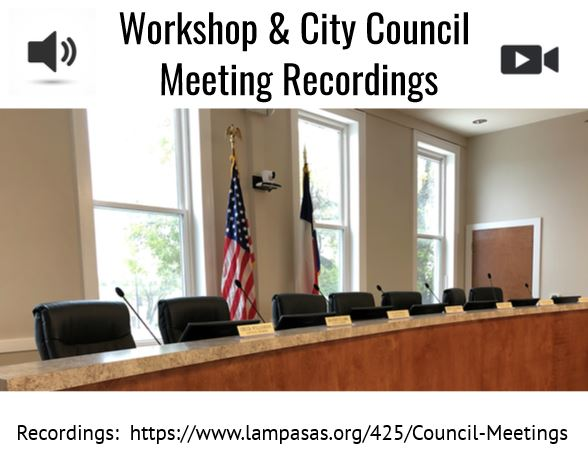 City Council recordings