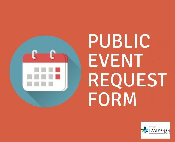 public event request form