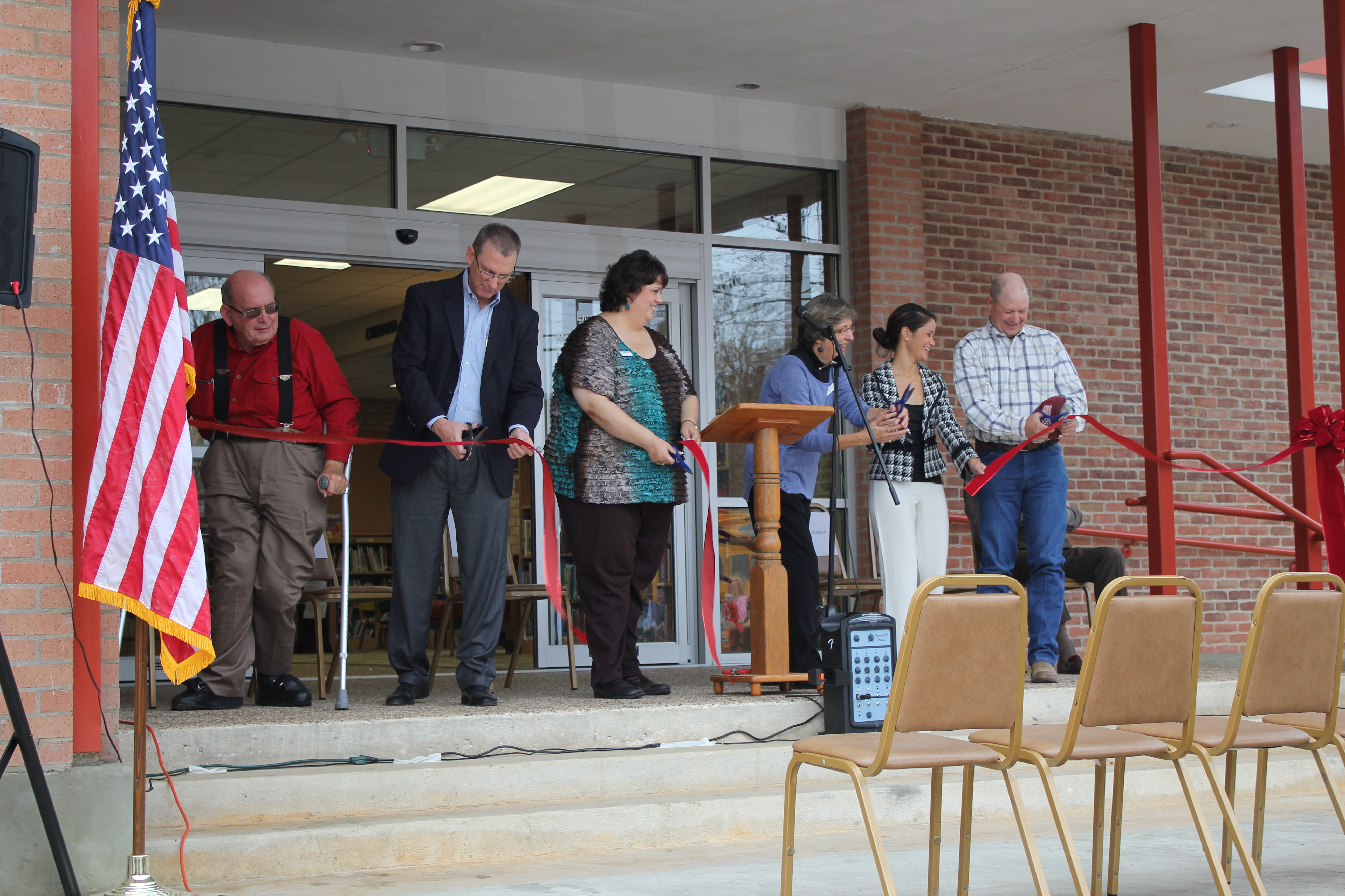 Library Grand Re-opening